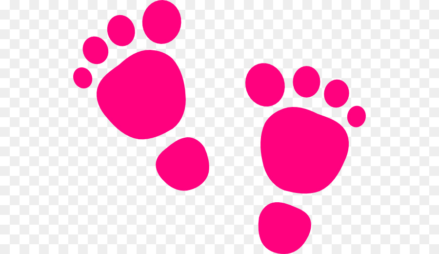 Pink baby feet and heart clipart png transparent stock Text Heart png download - 600*520 - Free Transparent Foot ... png transparent stock