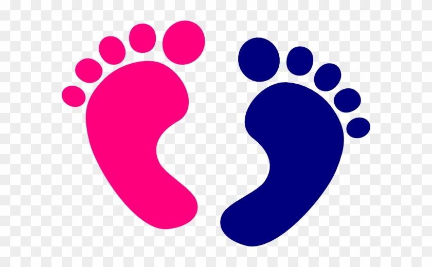 Pink baby feet and heart clipart image black and white download 13 137945 Baby Foot Clipart Ba Feet Clip Art At Clker Vector ... image black and white download
