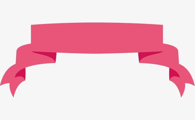 Pink banner clipart vector Pink Ribbon Banner, Ribbon Clipart, Banner Clipart, Pink ... vector