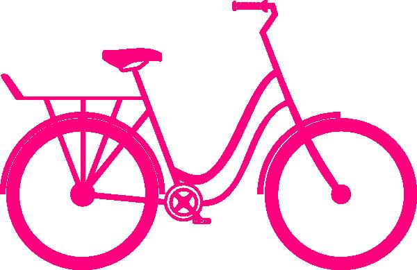 Pink bike clipart svg free Pink Bike Clip Art at Clker.com - vector clip art online ... svg free