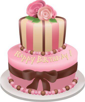 Pink birthday cake clipart svg free Happy Birthday !!!   BIRTHDAY   Pinterest   Birthdays, Clip art ... svg free