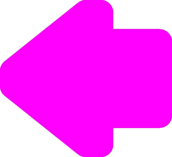 Pink black arrow clipart png free Arrow Left Pink Clip Art at Clker.com - vector clip art online ... png free