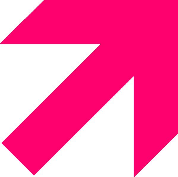 Pink black arrow clipart banner freeuse library Hot Pink Arrow Clip Art at Clker.com - vector clip art online ... banner freeuse library
