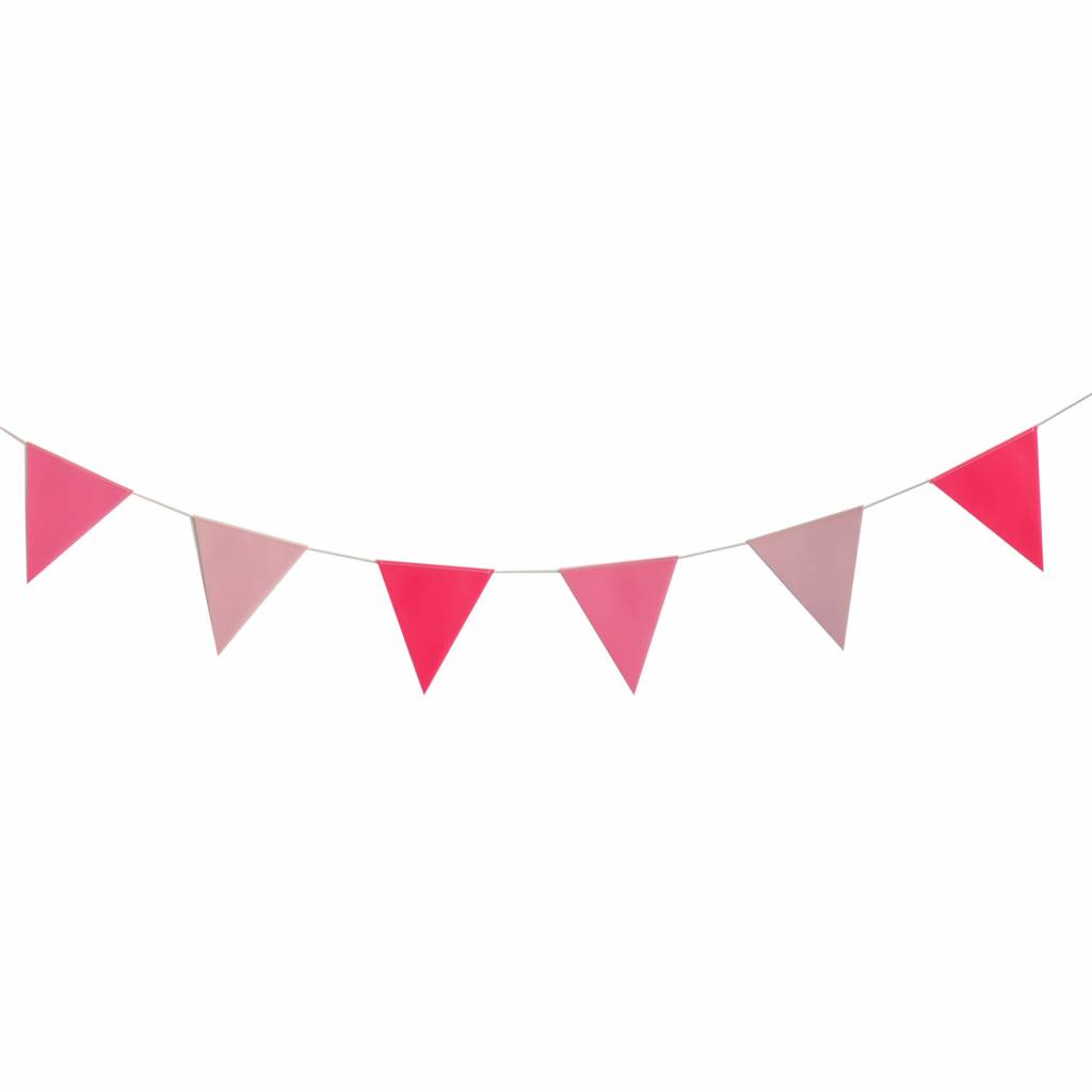 Pink bunting clipart graphic royalty free stock MY LITTLE DAY PINK BUNTING graphic royalty free stock