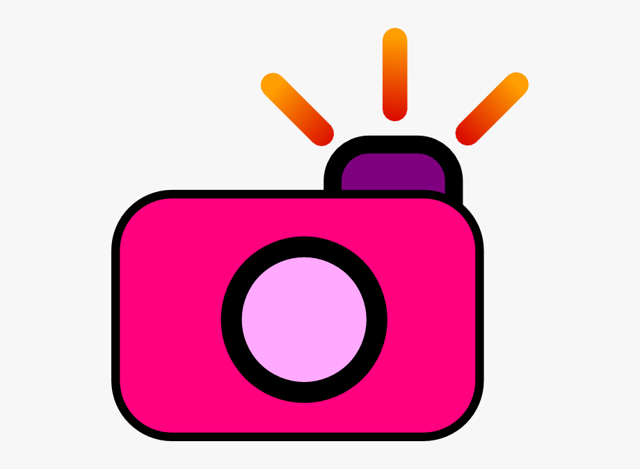 Pink camera clipart clip black and white stock Camera Clipart Png - Cute Camera Clip Art #89 - Free ... clip black and white stock