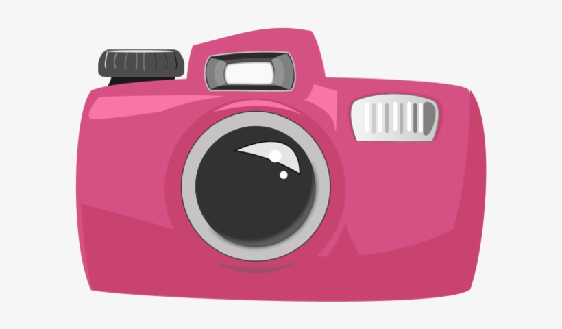 Pink camera clipart vector transparent library Camera Clipart Pink Camera - Pink Camera Cartoon Transparent ... vector transparent library