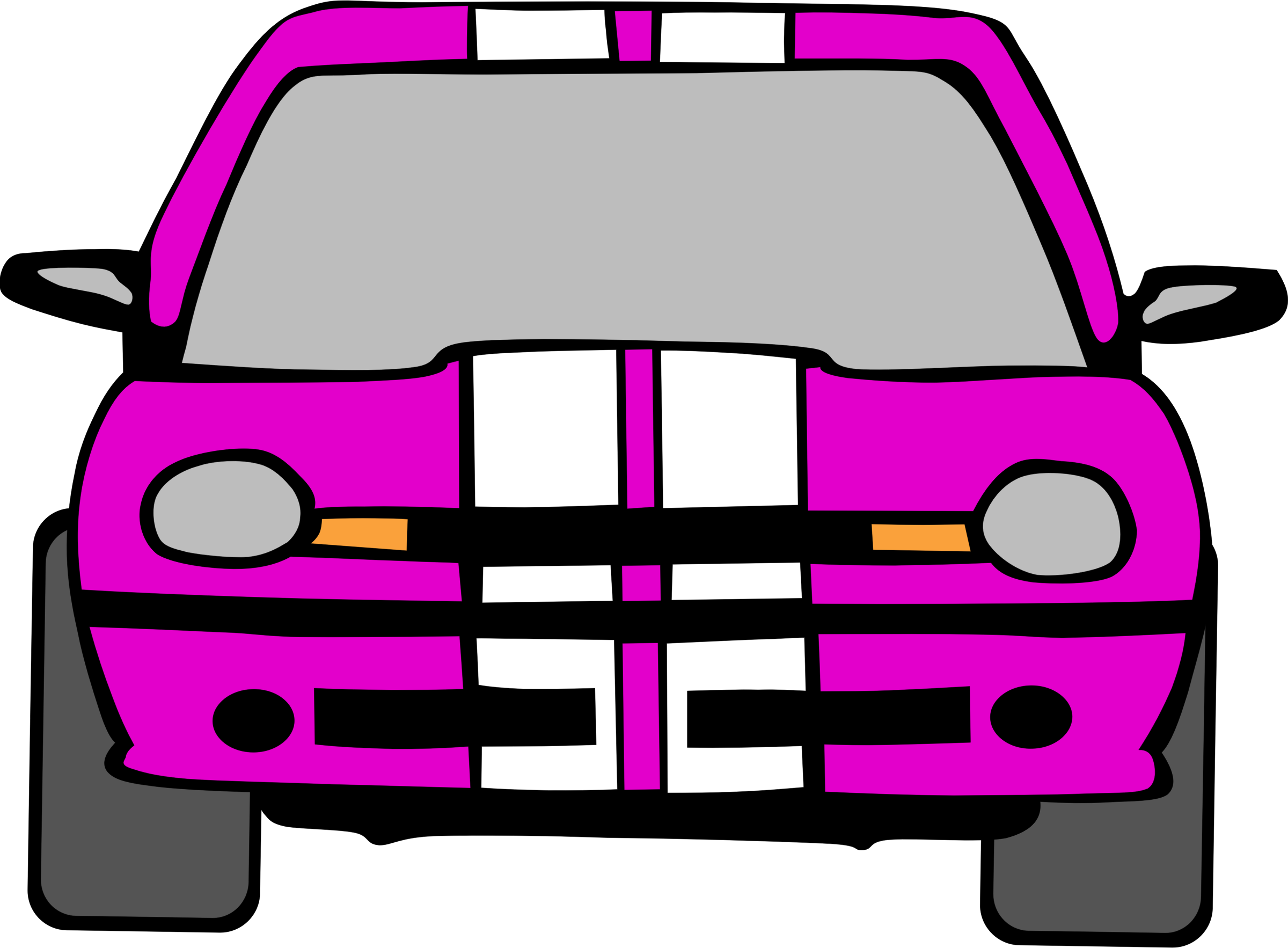Pink race car clipart png library download Clipart - Dodge Neon Car png library download
