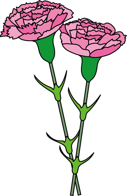 Pink carnation clipart clipart free library Free Carnation Cliparts, Download Free Clip Art, Free Clip ... clipart free library