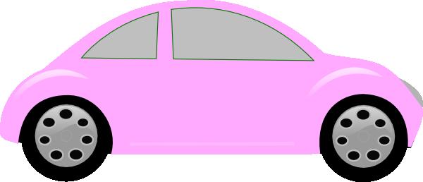 Pink cars clipart vector Car Clip Art at Clker.com - vector clip art online, royalty ... vector