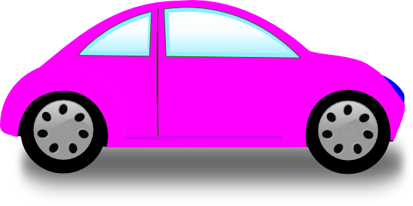 Pink cars clipart clip freeuse library Pink Car Clip Art at Clker.com - vector clip art online ... clip freeuse library