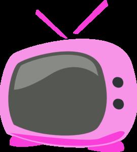 Pink cartoon clipart clip art free download Pink Cartoon Tv Clip Art at Clker.com - vector clip art ... clip art free download