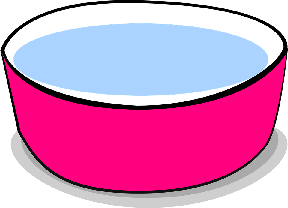 Pink cat food bowl clipart vector freeuse stock Pink cat food bowl clipart collection vector freeuse stock