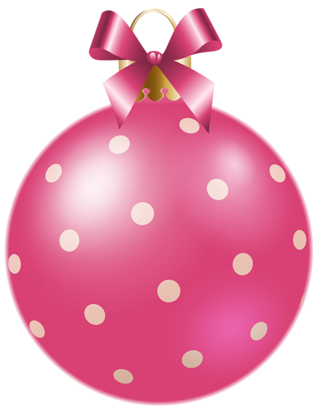Pink christmas ornaments clipart image black and white download Pin by Pink Maiden on ClipArt   Pink christmas tree, Pink ... image black and white download