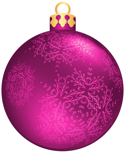 Pink christmas ornaments clipart clip library download Pin by Marilyn Porter on Christmas ♢ BOMBKI   Christmas ... clip library download