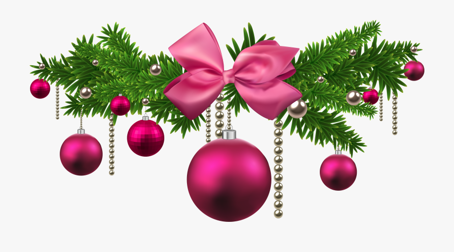 Pink christmas ornaments clipart royalty free stock New Year Ornaments Png - Pink Christmas Decorations Png ... royalty free stock