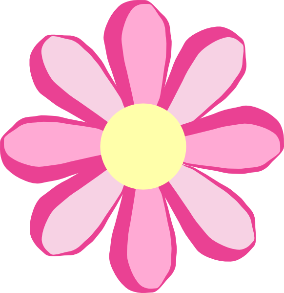 Pretty flower clipart png free stock Clipart Pink Flowers | Clipart Panda - Free Clipart Images png free stock