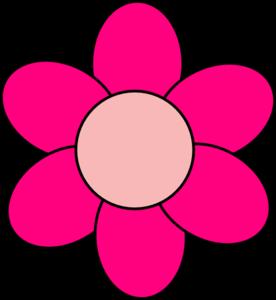 Pink clipart flowers clip art free stock Pink Flower Clip Art at Clker.com - vector clip art online ... clip art free stock