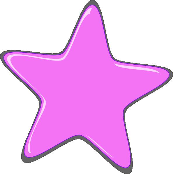 Star clipart pink clipart transparent Light Pink Star Clip Art at Clker.com - vector clip art online ... clipart transparent