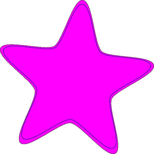 Star clipart pink clip art library stock Pink Star Clip Art at Clker.com - vector clip art online, royalty ... clip art library stock