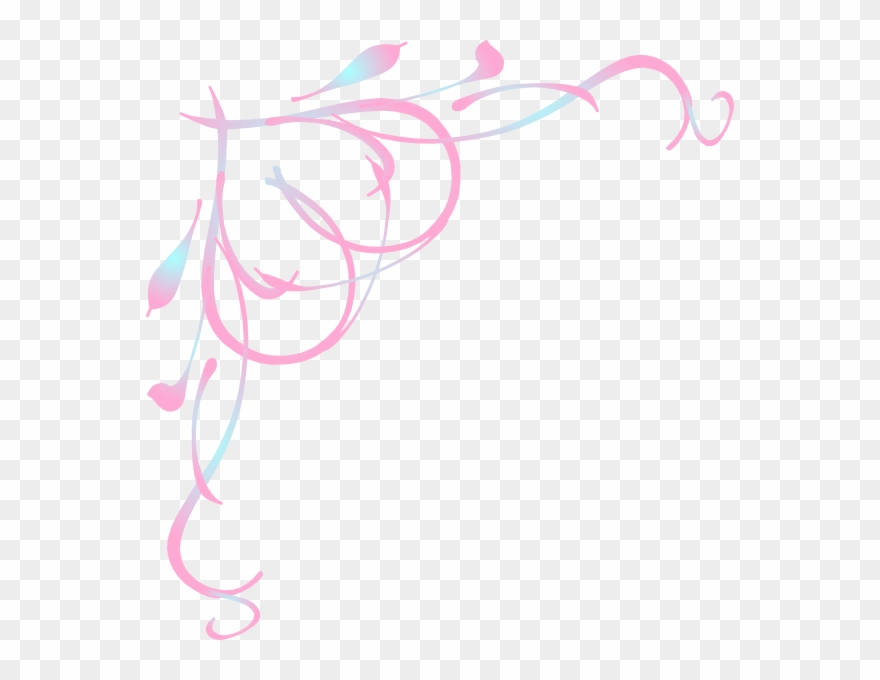 Pink corner border clipart picture freeuse stock Pink Corner Border Png Clipart (#832483) - PinClipart picture freeuse stock