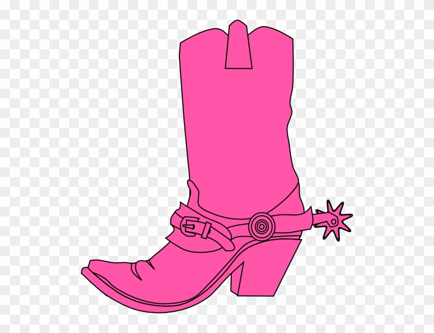 Pink cowgirl clipart graphic freeuse stock Cowgirl Clipart - Pink Cowboy Boot Clipart - Png Download ... graphic freeuse stock