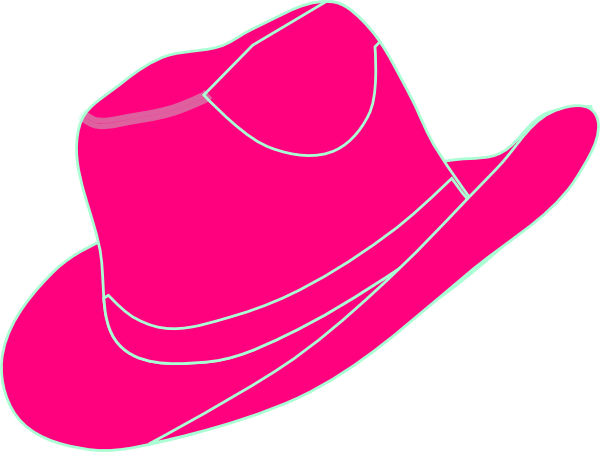 Pink cowgirl clipart royalty free download Pink Cowgirl Hat Clip Art at Clker.com - vector clip art ... royalty free download