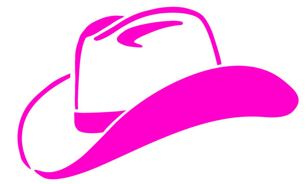 Pink cowgirl clipart png black and white download 4 pink cowgirl hat clip art. | Clipart Panda - Free Clipart ... png black and white download