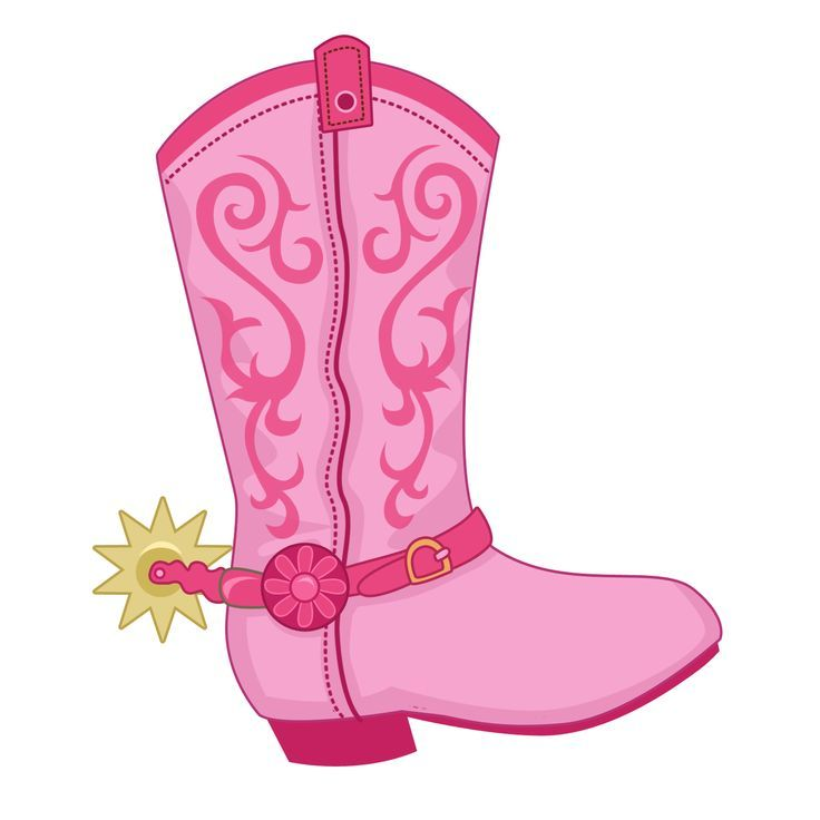 Pink cowgirl clipart image freeuse library Cowgirl pink boots boots and on clip art | Clipart | Cowgirl ... image freeuse library
