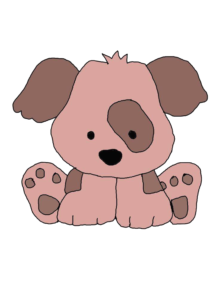 Pink cute dog clipart clip free download Puppy clipart jewels art creation - Clipartix clip free download