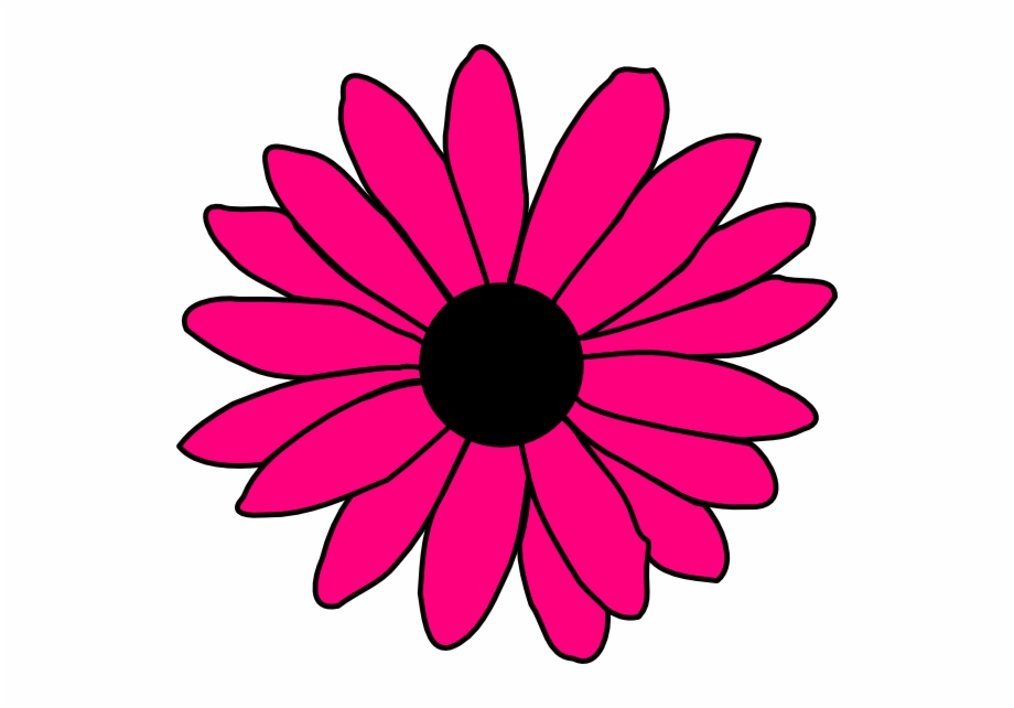 Pink daisy cliparts graphic library stock 600 X 562 Png 61kb - Pink Daisy Flower Clipart Free PNG ... graphic library stock