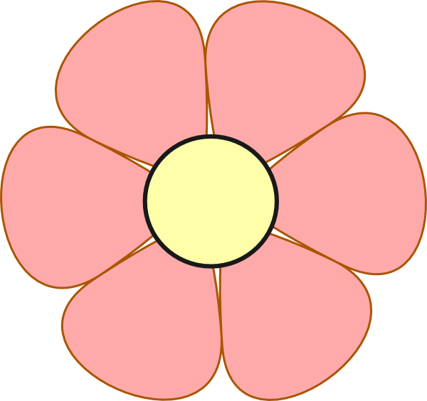 Pink daisy flower clipart download Pink Daisy Clip Art at Clker.com - vector clip art online, royalty ... download