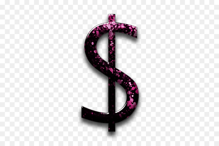 Pink dollar sign clipart jpg royalty free download Dollar Sign clipart - Pink, Font, transparent clip art jpg royalty free download