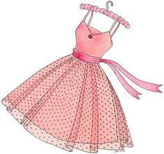 Pink dress clipart clipart royalty free library Free Pink Dress Cliparts, Download Free Clip Art, Free Clip ... clipart royalty free library