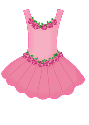 Pink dress clipart vector library stock Pink dress clipart 2 » Clipart Portal vector library stock