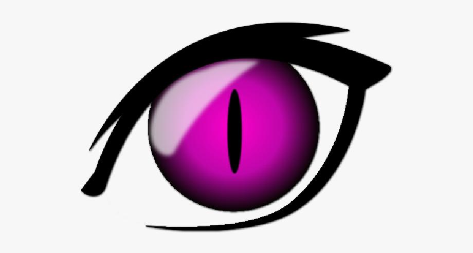 Pink eye clipart svg library stock eye #iris #anime #cartoon #cateye #pink #pinkeye #black ... svg library stock