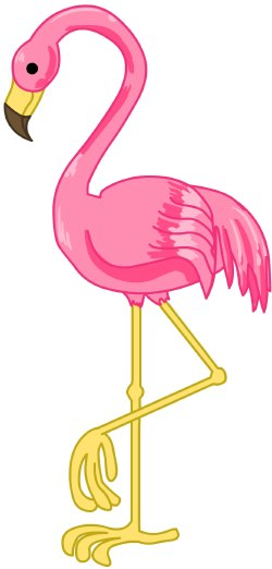 Pink flamingo clipart free picture freeuse stock Free Pink Flamingo Cliparts, Download Free Clip Art, Free ... picture freeuse stock