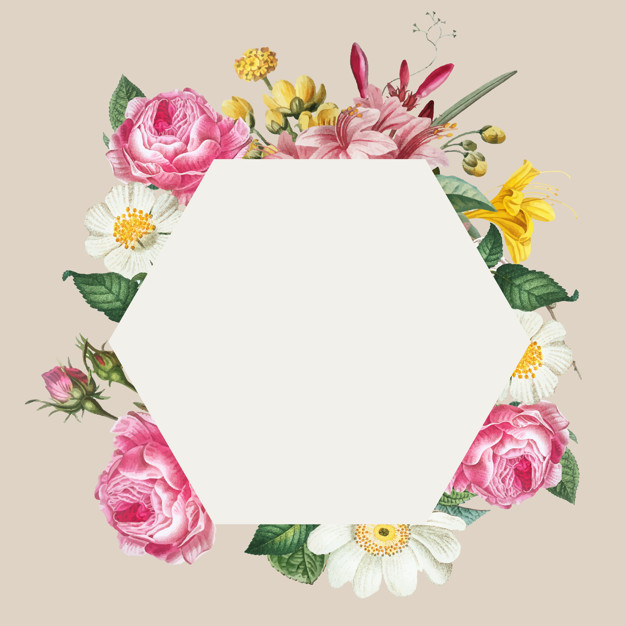 Pink floral frame clipart clipart library download Pink floral frame Vector   Free Download clipart library download