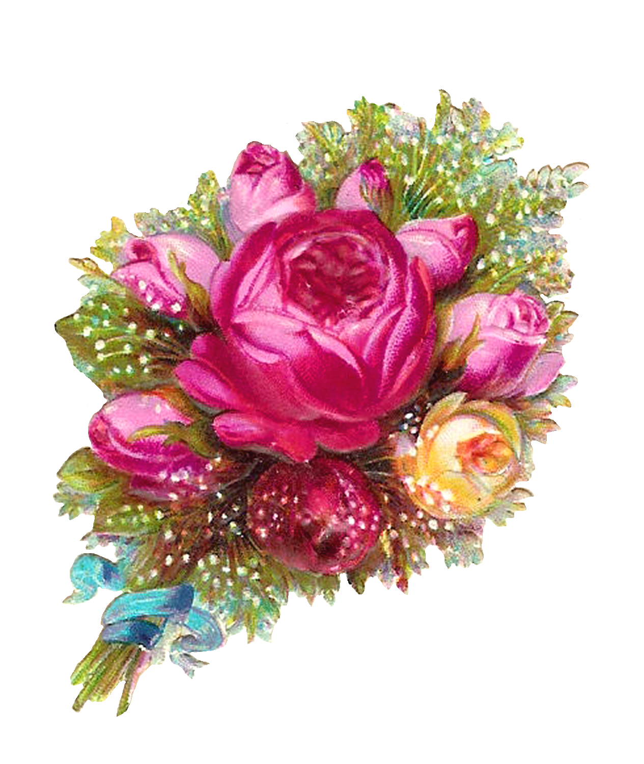 Pink flower bouquet clipart banner freeuse library Bouquet PNG Images Transparent Free Download | PNGMart.com banner freeuse library