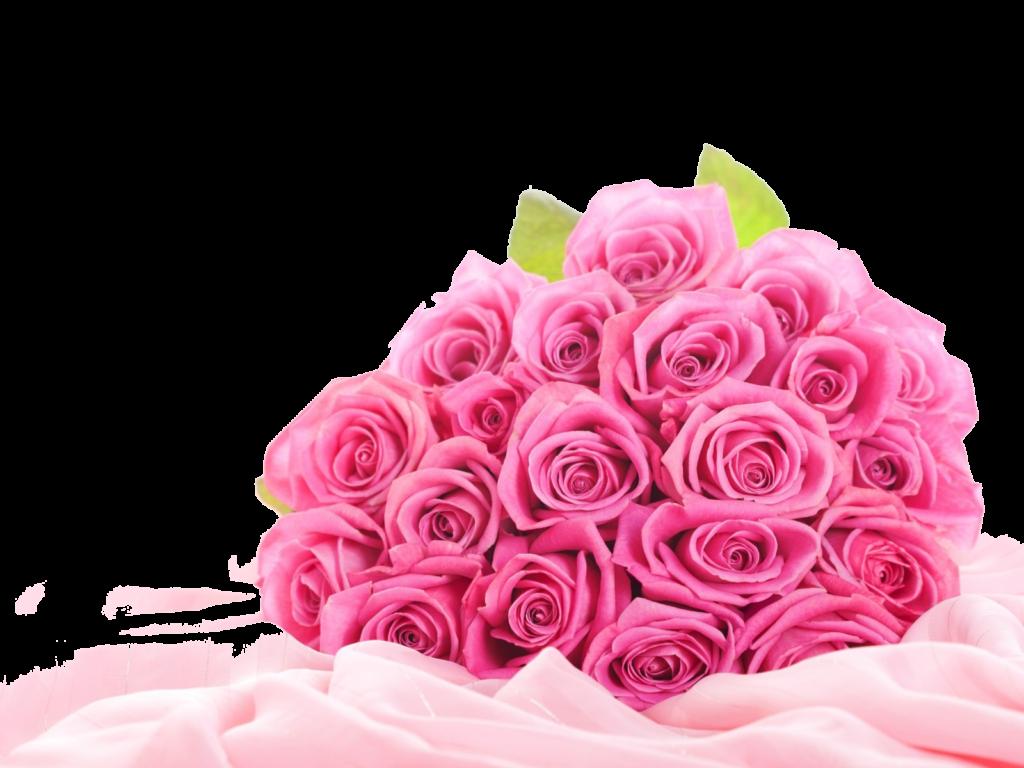 Pink flower bouquet clipart vector freeuse stock Pink Roses Flowers Bouquet PNG Clipart - peoplepng.com vector freeuse stock