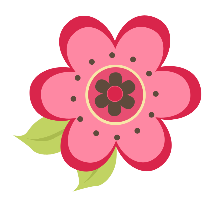 Pink flower clipart png clip Pink Flower Pics   Free Download Clip Art   Free Clip Art   on ... clip