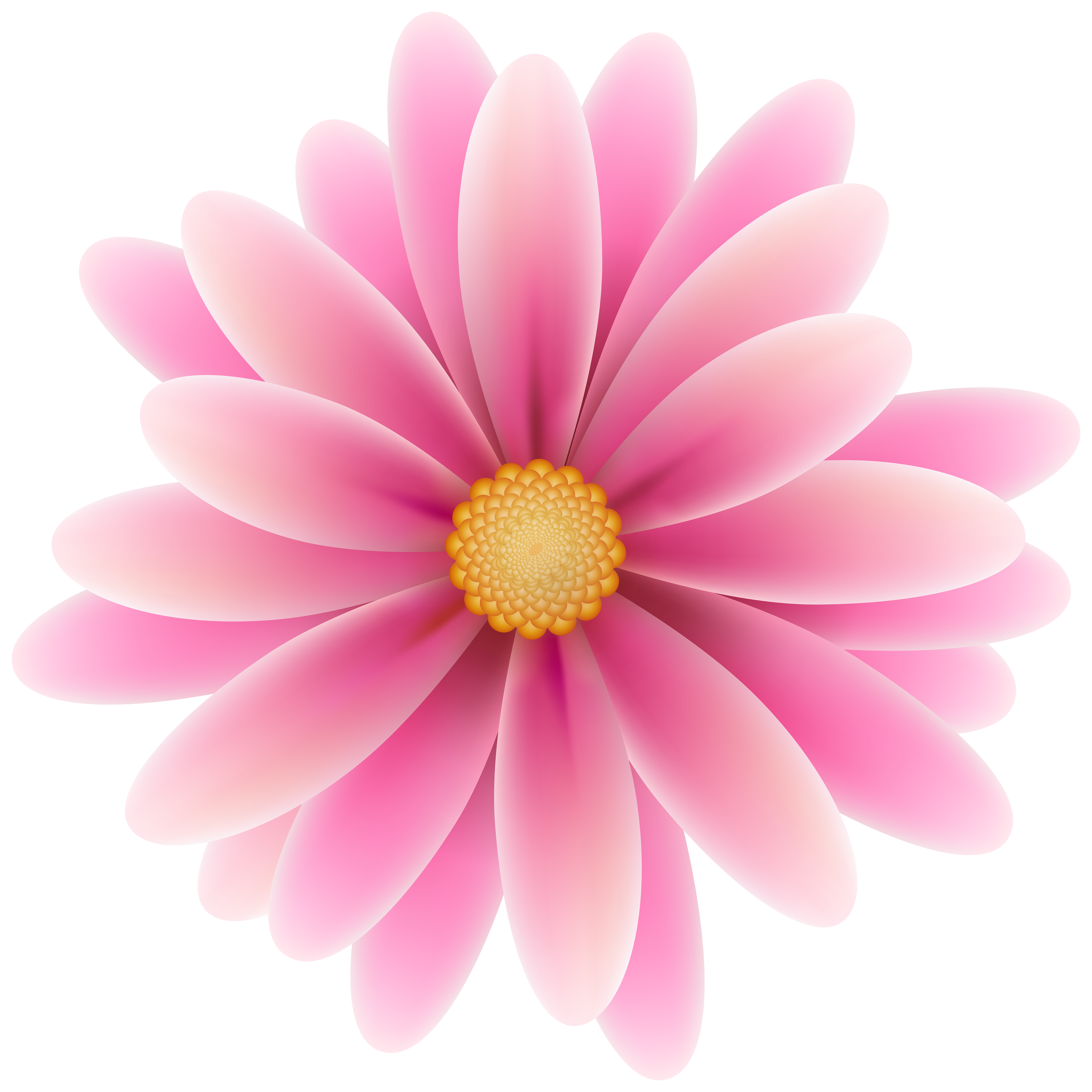 High res flower clipart picture free library Pink Flower Clip Art Image picture free library