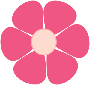 Pink flower vector clipart royalty free library Pink Flower clip art - vector | Clipart Panda - Free Clipart ... royalty free library