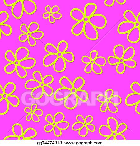 Pink flowers with shadows clipart clip art transparent stock EPS Illustration - Flat cute flowers with shadow. Vector ... clip art transparent stock