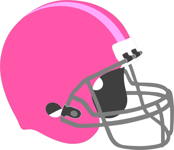 Red football helmet outline clipart picture library stock Pink Football Helmet Clip Art at Clker.com - vector clip art online ... picture library stock