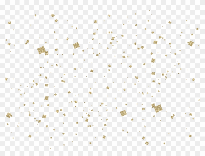 Pink gold black confetti background clipart free image black and white stock Gold Confetti Background - Background Confetti Png ... image black and white stock