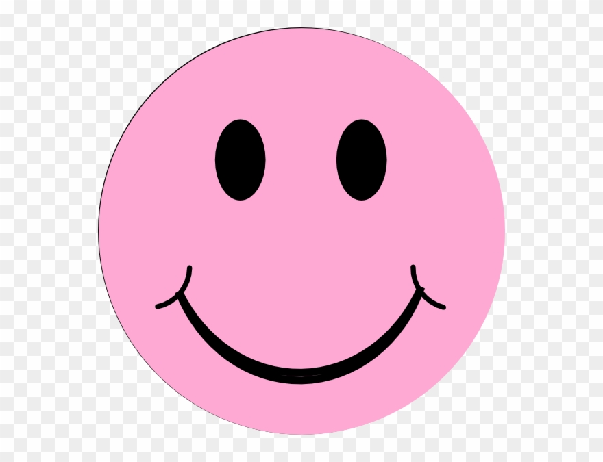 Pink happy face clipart clip Clipart Info - Light Pink Smiley Face - Png Download ... clip