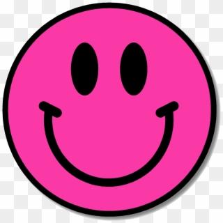 Pink happy face clipart clip stock Super Happy Face - Happy Face Pixel Art, HD Png Download ... clip stock