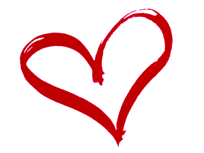Pink heart outline clipart graphic library library pink-heart-outline-clipart-aTexGLAT4 | Heya, Monster. graphic library library