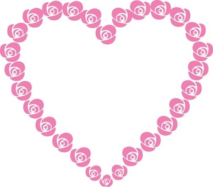 Pink hearts and flowers clipart png freeuse library Flower Heart - ClipArt Best png freeuse library