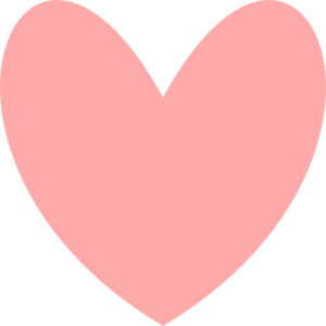 Pink hearts clip art image free Pink Heart clip art - Polyvore image free